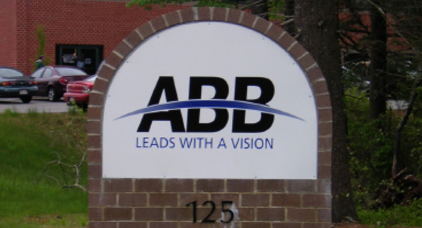 ABB Outside Sign