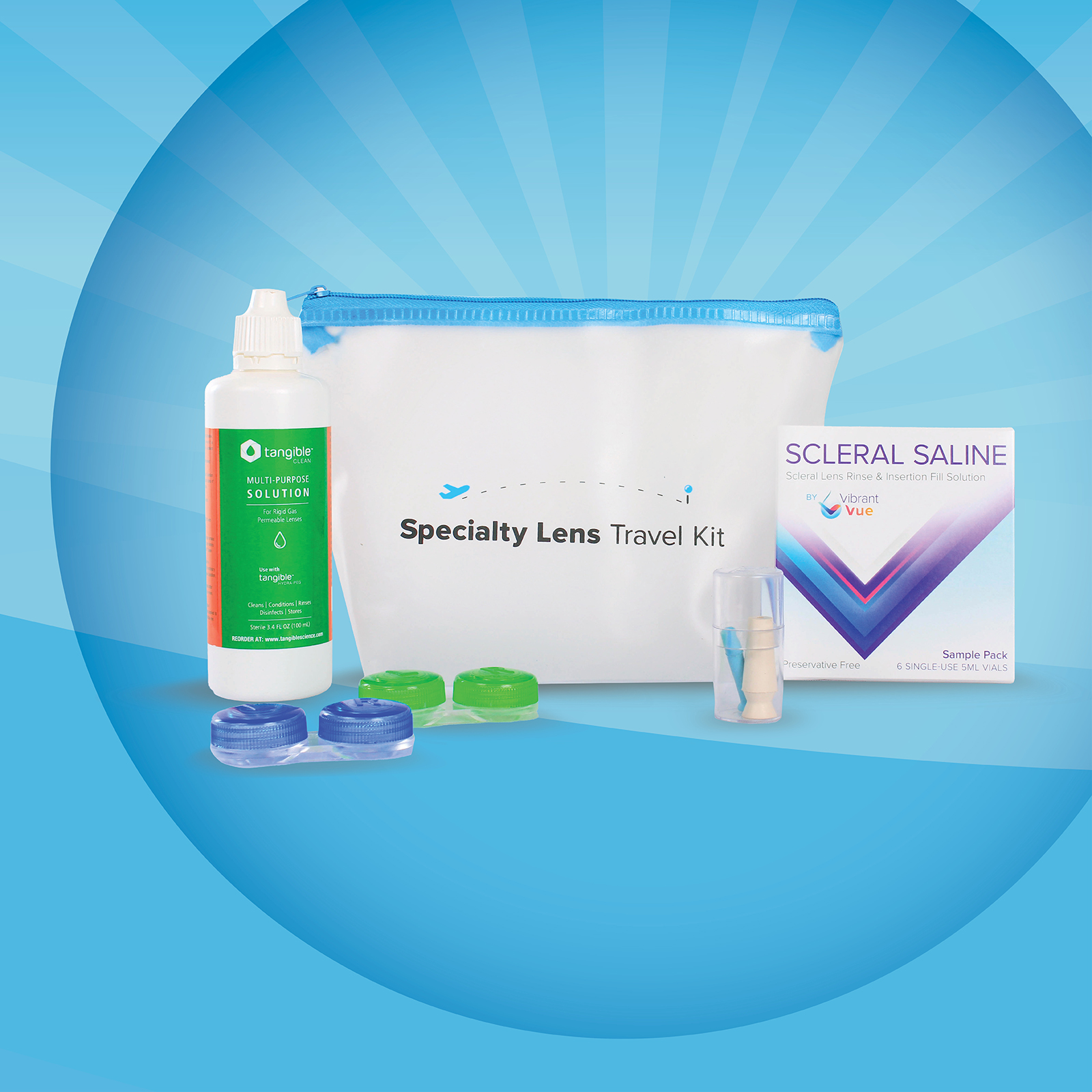 Introducing the Scleral Travel Kit