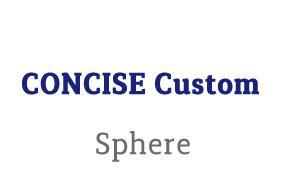 CONCISE Custom Sphere