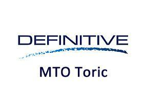 DEFINITIVE MTO Toric