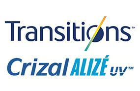Transitions 8 Crizal Alize AR UV